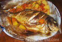 deniz ürünleri menüsü