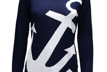 Nautical Knits & Prints / Nautical inspired clothing, from nautical knits to anchor prints, check out our range of ladies clothing.