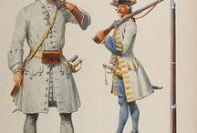 XVIII wiek wojskowość