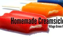 Recipes - Ice Cream, popsicles / by Sara Thompson