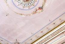 Ornamenten - geschilderde ornamenten / Ornamenten in het interieur. Voor het leren schilderen van ornamenten (trompe l'oeil), kijk op www.kleuracademy.nl