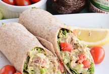 wraps, tortillas