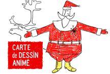 Partenariat La Poste & Le Père Noël / Plus d'un million de Cartes Animées envoyées aux enfants à Noël.