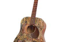 Acoustic guitars design