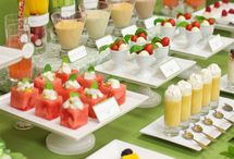 Milk shakes & Candy bar / Catering Ideas for a women's event