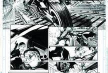 Comic Art/ Pages/ Panels