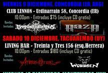 REQUIEM AETERNAM TOUR 2016 / Requiem Aeternam plays in Argentina & Uruguay (December 2016)