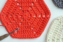 Step crochet basic hexagon