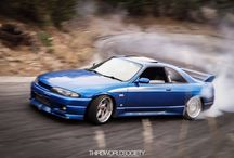R-CHASSIS NISSANS / SKYLINES / by Keith Ring
