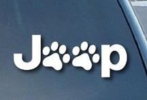 "Jeep Wrangler Cat Dog Paw Print Car Window Vinyl Decal Sticker 5"" Wide (Color"