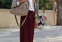 Outfit con Maxifaldas
