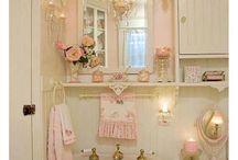 Shabby chic fürdőszoba