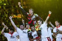 2015 Red Bull X-Fighters World Tour Madrid / Tom Pagès proves impossible is possible with historic Madrid hat-trick.  Madrid Results: 1. Tom Pagès (FRA), 2. Levi Sherwood (NZL), 3. Clinton Moore (AUS), 4. David Rinaldo (FRA), 5. Josh Sheehan (AUS), 6. Adam Jones (USA), 7. Taka Higashino (JPN), 8. Rob Adelberg (AUS), 9. Maikel Melero (ESP), 10. Javier Villegas (CHI), 11, Dany Torres (ESP), 12. Rémi Bizouard (FRA)