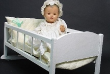 ~Dolls/Baby Olde & accessories~ / by Sharon Heirholzer