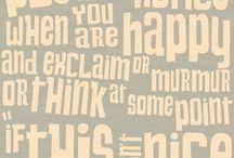 A few words / by Becki Hughes