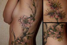 tattoo cerisier japonais