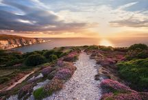 West Wight landscape, Isle of Wight / Locations and places nearby to the Needles
