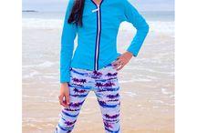 Sun Protection for Teens / Sun protection swimwear, rash guard swim shirts, swim leggings and swim shorts for teenagers,