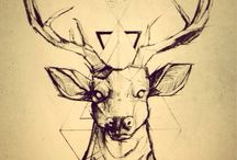 Deer tattoo inspiration / Looking for some cool designs that would help me decide what to ink