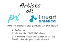Artists of Fine Art America / A group board dedicated to all artists who sell there beautiful creations on Fine Art America. Everything from paintings, sculptures, digital designs, photography and more can be added to this board. Only post your items listed on Fine Art America to this board. *Porn and violence will not be tolerated. It will be removed and you will be blocked.