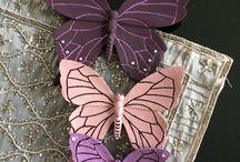 polyester kelebekler