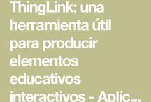 Investigando Thinglink grupo 3 / descripción de la app, aspectos positivos y negativos, usos didácticos, posibilidad de trabajo colaborativo en DDMM.