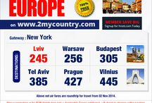 Europe & Tel Aviv Special With 2mycountry / #Europe & Tel Aviv Special With 2mycountry   For more information you can reach us @ info@2mycountry.com Hours of Operation: 24 Hours - 7 Days a Week