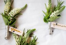 Inspire you {Buttonholes} / Great ideas for the men!