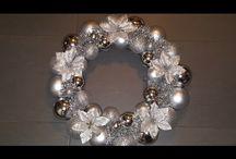Christmas Bauble Wreaths