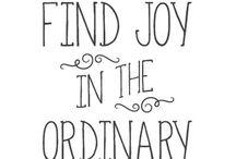 Feelings / Joy, peace, sadness, love, etc.