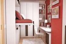 Small Room Ideas / Ötletek pici szobába