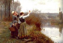 Knight, Daniel Ridgway (1839-1924, American painter)