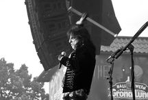 Alice Cooper on paras / I´ve seen Alice Cooper in several decades - and loving it. 27.7.2017 gig in Gröna Lund amusement park was best! Here´s pics of Alice Cooper look-a-like competition 1994 Itäkeskus Anttila shop, Alice with trash car 1989