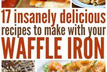 waffles, waffles and more waffles