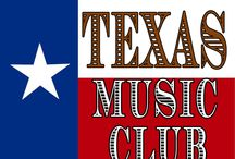 Texas Music Club / TEXAS music sent to your door each month! See website for details! www.TexasMusicClub.com / by Texas Music Club