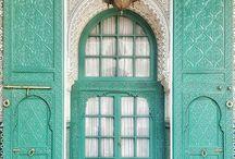 dveře, architektura