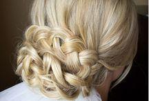 wedding hair / by Stefanie Bowen