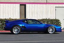 De Tomaso Pantera GTS / Another Italian dream car...