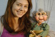Marionetten / Poppen
