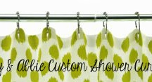 Home Products / Lilly & Abbie is now offering products for the home.  Shower Curtains, Pillows, Aprons.