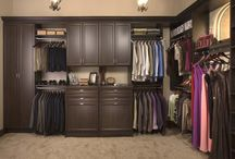 Custom Closets / Custom closets for every room in your home. No matter your storage conundrum, or organizational issue, Garage Outfitters has you covered!