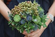 A decorative arrangement of flowers