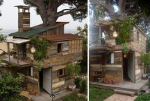 Tree Houses / One of my life long dreams is to build my kids a tree house...perhaps not as extravagant as these, but I can definitely gain some inspiration from them!