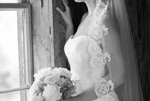 Wedding style sluier