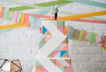 Modern Geometric Bridal Shower / by Kate {DomestiKatedLife}