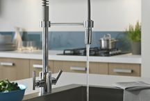 Kitchen including sinks and taps etc / Looking for some inspiration for a new kitchen? Browse these great looking sinks and taps from various top brand manufacturers.