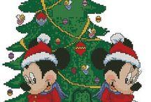 disney christmas pattern