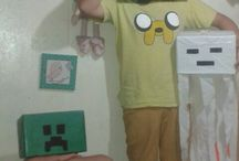 minecraft segun mis hijos!! / by DISEÑOS ROWLING