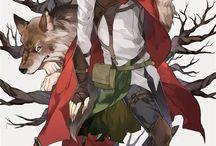 Rödluvan: Manga & anime etc. / Rödluvan