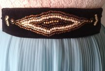 Handmade Beaded Sash